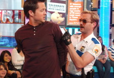 "The Cast of ""Reno 911!: Miami"" Visits and Katharine McPhee Hosts MTV's ""TRL"" - February 21, 2007"