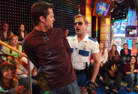 """The Cast of """"Reno 911!: Miami"""" Visits and Katharine McPhee Hosts MTV's """"TRL"""" - February 21, 2007"""