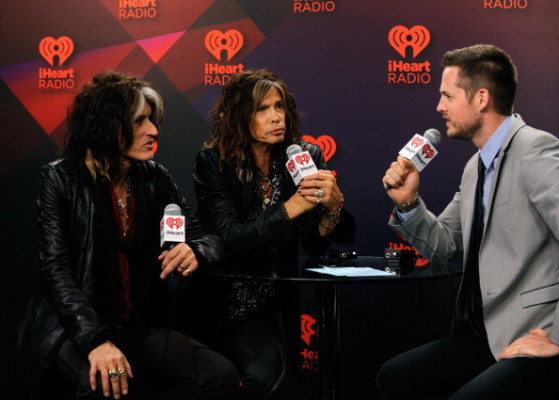 2012 iHeartRadio Music Festival - Day 2 - Elvis Duran Broadcast Room